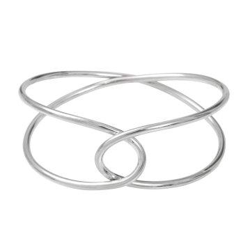 Aurore_Havenne_Raindrops_Crossing_bracelet_silver_packshot